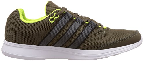 Mens Lite Runner Shoes Olive Olive Trainers Running adidas qw6EC7q