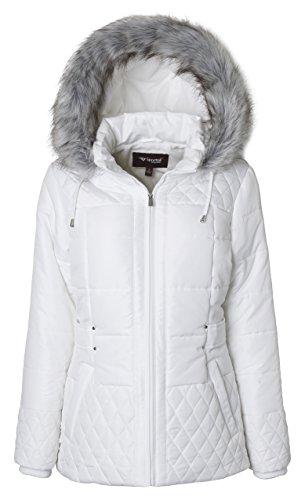 Quilted Side Zip Coat - 2