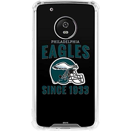 (Skinit Philadelphia Eagles Moto G5 Plus Clear Case - Officially Licensed NFL Phone Case - Transparent Moto G5 Plus Cover)