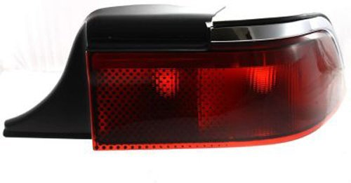 Crash Parts Plus Passenger Right Side Tail Light Tail Lamp for 95-97 Mercury Grand Marquis (Marquis Passengers Tail Grand Side)