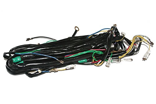(Enfield County 12v Complete Wiring Loom Harness Vespa LML PX P Star T5 Scooter)