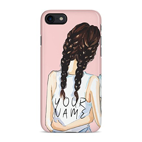 (Personalised Custom Text Best Friend Brunette Initials Every Blonde Needs A Brunette Best friend Protective Hard Plastic Case Cover For iPhone 7/iPhone 8)
