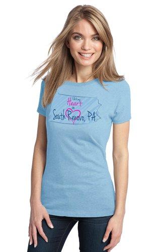 I Left my Heart in South Renovo, PA Ladies' T-shirt   Pennsylvania Pride-Medium