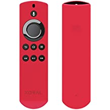 Koral Case for Alexa Voice Remote for Fire TV and Fire TV Stick - Red