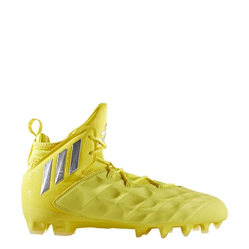 adidas Freak Lax Mid Shoe Men's Lacrosse 8.5 Yellow-Silver by adidas