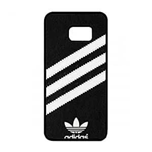 Adidas Originals Molded Impossible is nothing Black/White Case,The Logo of Adidas Caja del teléfono celular Funda,Samsung Galaxy S6 Edge Plus Hard Phone Cover