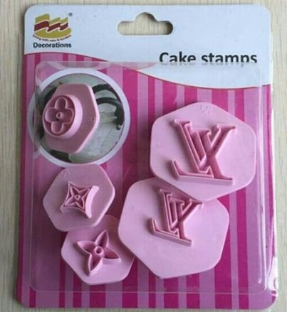 Cake Stamps 5Pc Set