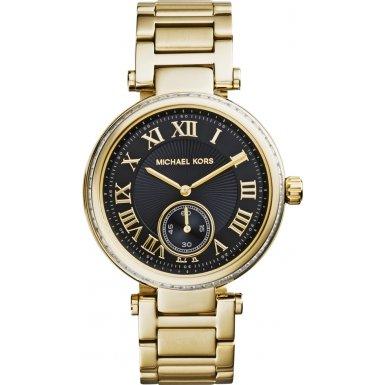 Michael Kors MK5989 Ladies Skylar Black Gold Watch