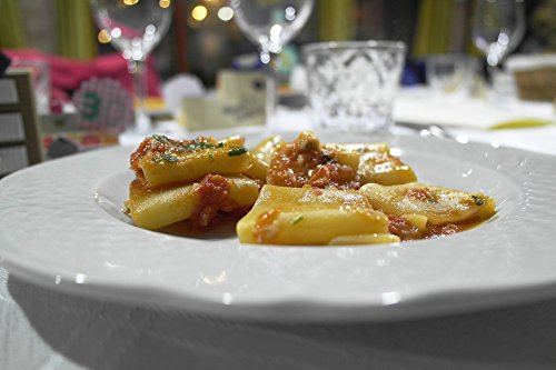 Home Comforts Peel-n-Stick Poster of Lunch Paccheri, used for sale  Delivered anywhere in USA