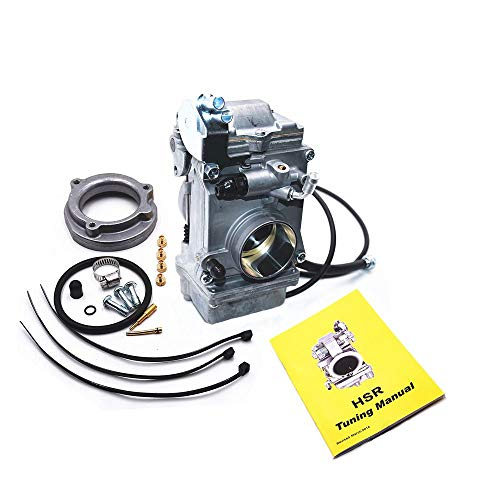 Carbman Carb Replaces HSR42mm HSR 42 TM42-6 42mm Carb Carburetor Harley Evo Evolution Twin Cam