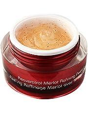 Vine Vera Resveratrol Merlot Peeling Gel - Paraben Free Luxury Face Scrub to Peel Your Way to Radiant Skin - Resveratrol Peel for Improved Skin Tone - Natural Ingredients to Suit All Skin Types