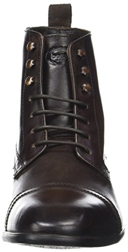 Base London Herren Clayton Kurzschaft Stiefel Marron (Brown Washed)