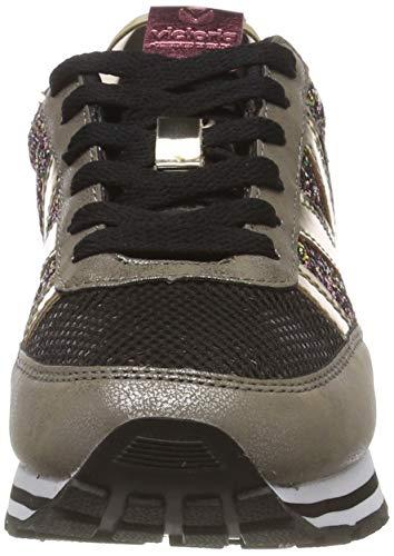 Victoria Glitter oro Oro Sneaker Deportivo Ciclista Donna 51 44W1FHwqn6