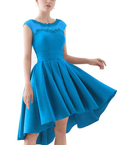 mujer 44 para trapecio Sin mangas azul Vestido Beyonddress 8v0XzqxB