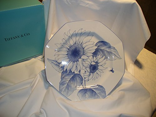 Octagonal Sunflower (TIFFANY & CO. CHINA 'NATURE' SUNFLOWER Octagonal Serving Platter)
