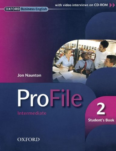 ProFile: Level 2: Intermediate - Student's Book and CD-ROM: 800170-7 und 800176-9 im Paket