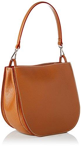 Mac Douglas Galieni Buni - Shoppers y bolsos de hombro Mujer Naranja (Ambre)