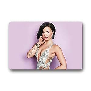 """SNOWY Demi Lovato Design Horse Welcome Doormat Size 18""""(L) x30""""(W)"""