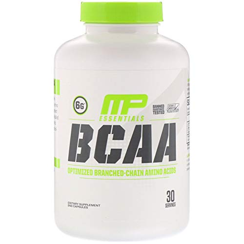 2 Pack MusclePharm Essentials BCAA 240 Capsules