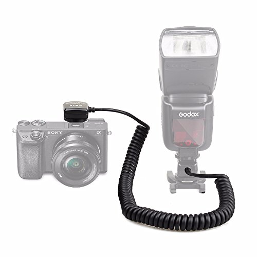 EACHSHOT MK-FA02 3M 10Ft 118 Inches TTL Off Camera MI Multi Interface Hot Shoe Flash Sync Cable Cord For Sony Flash HVLF20M HVLF32M HVLF60M HVLF43M Godox TT685S TT350S V860II-S, Meike MK-320S/MK-320