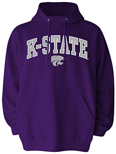 Old Varsity Brand Men's Pullover Hood, Purple, Large