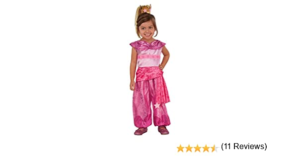 Rubies 510301XS Shimmer and Shine Leah Genie - Disfraz infantil ...