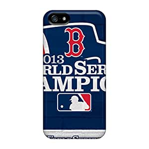 Snap-on Boston Red Sox Case Cover Skin Compatible With Iphone 5/5s