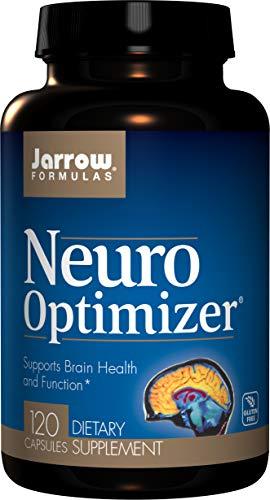 Jarrow Formulas Neuro-Optimizer, Supports Brain Health and Function*, 120 Capsules (Jarrow Formulas Adrenal Optimizer)