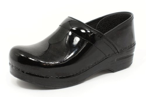 - Dansko Women's Professional Black Patent 39 EU (8.5-9 M US Women's)