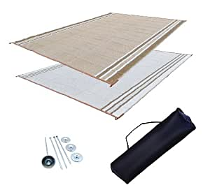 Amazon.com: RV Patio Mat Awning Mat Outdoor Rug Trailer