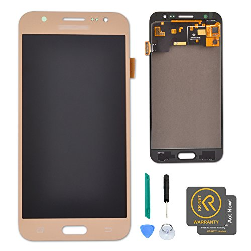 KR-NET Gold LCD Display Touch Screen Digitizer Assembly for Samsung Galaxy J5 2015 J500