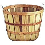 5 Peck Field Basket, Natural, with Handles, 18'' Dia
