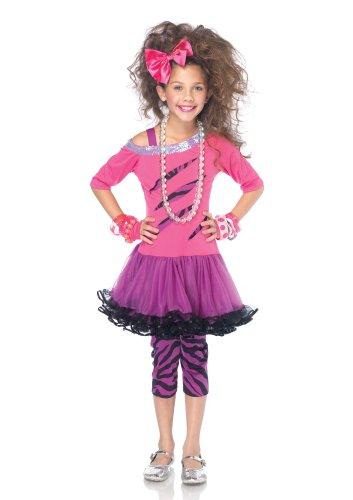 Costume Kids Rockstar (Leg Avenue Rockstar Medium , Pink/Purple Child)
