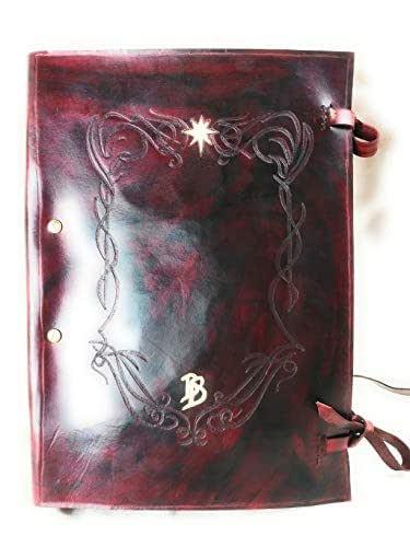 Libro Rojo Bilbo Bolson El Señor de los Anillos
