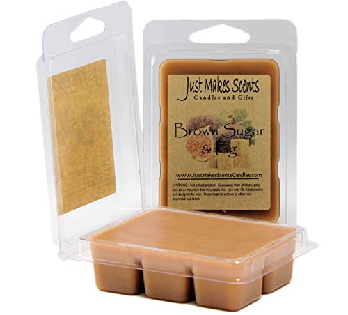 Just Makes Scents 2 Pack - Brown Sugar & Fig Scented Wax Melts