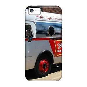 Unique Design Iphone 5c Durable Tpu Case Cover Miller Beer Wds