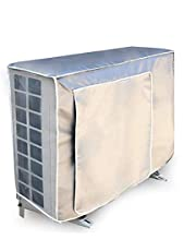 Fablcrew Airconditioning-afdekking, beschermhoes voor airconditioning, buitenairconditioning, waterdicht, uv-bescherming, sneeuwbescherming.