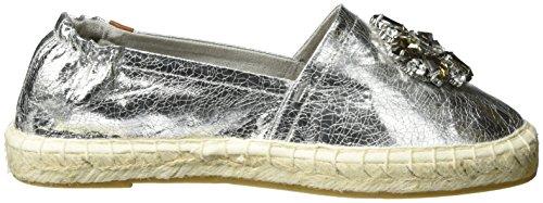 silver 944 Silver 24608 Tamaris Crack Women''s Loafers IYpBxw7q