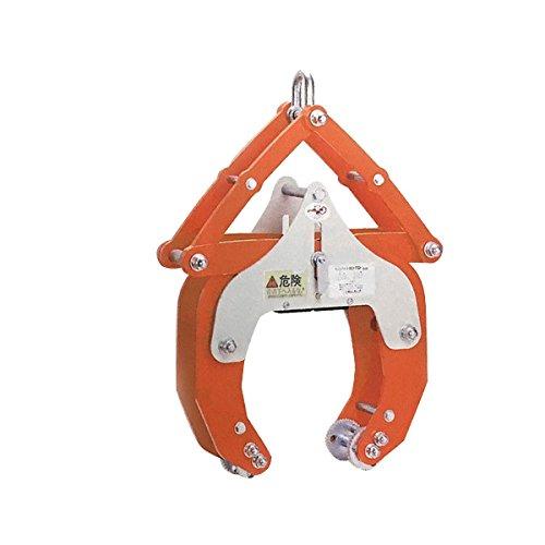 【2台1セット】 マシンバイス LD-1500 開放フック付 石材 ブロック コンクリート 用 クランプ 吊具 SANKYO コT 代不 B01MZBIZXN