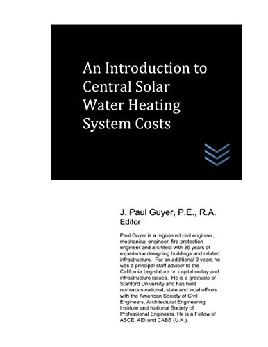 An Introduction to Central Solar Water Heating System Costs