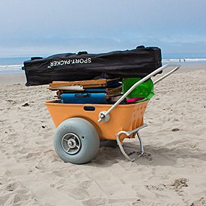 (Wheeleez Heavy Duty Beach Cart)