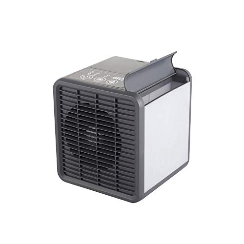 - NCBH USB Air Conditioner - Personal Air Cooler Fan, Desk Cooling Fan, Air Conditioning Unit for Home Office, Timer 3 Speed Fan