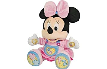 Mickey Mouse Clubhouse bébé Minnie Mouse en peluche parlant.