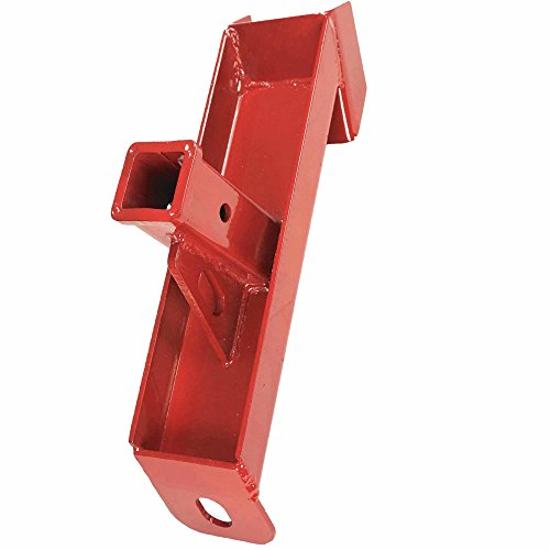 Titan Attachments Trailer and Skid Steer Hitch Adapter for 2-inch Insert Ball