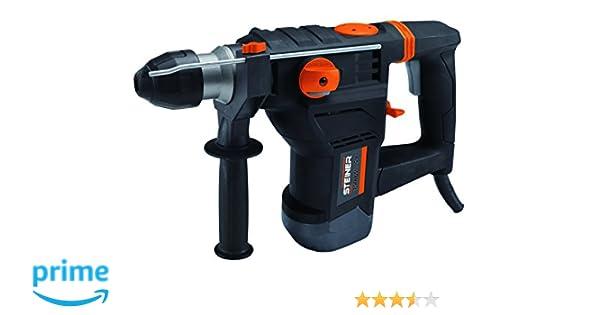 Steiner 500051 Martillo perforador (1500W, 5 Julios), Negro: Amazon.es: Bricolaje y herramientas