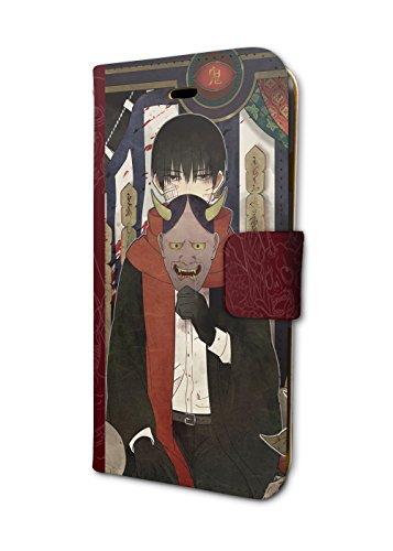 もののべ古書店怪奇譚 01 シロ、正太郎 手帳型スマホケース iPhone6/6s/7/8兼用
