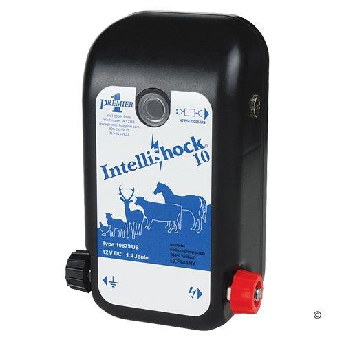 1 Joule Premier IntelliShock 10 AC//DC Fence Energizer