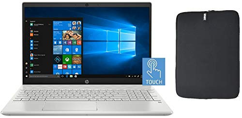 HP 15.6 Inch FHD Touchscreen Laptop Bundle with WOOV Accessory, 10th Gen Intel Quad Core i5-1035G1 (Beat i7-8550U), 16GB…