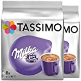 Tassimo T Discs Milka Hot Chocolate Flavour Drink 8