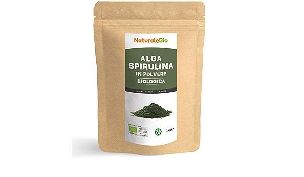 Alga Espirulina Ecológica En Polvo 1kg. 100% Orgánica ...